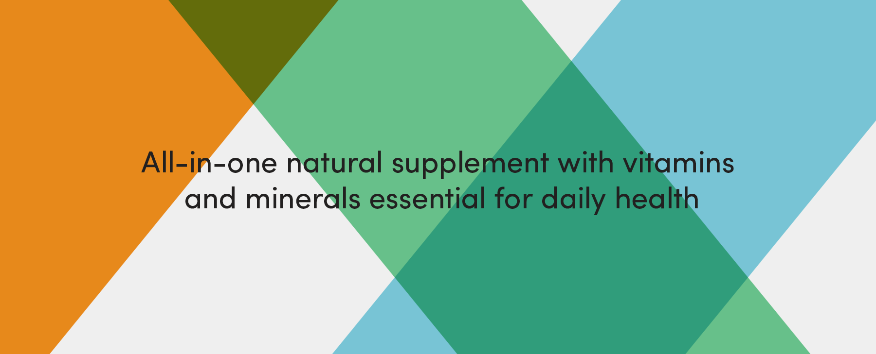 FYXX all in one natural supplement with vitamins and essential minerals