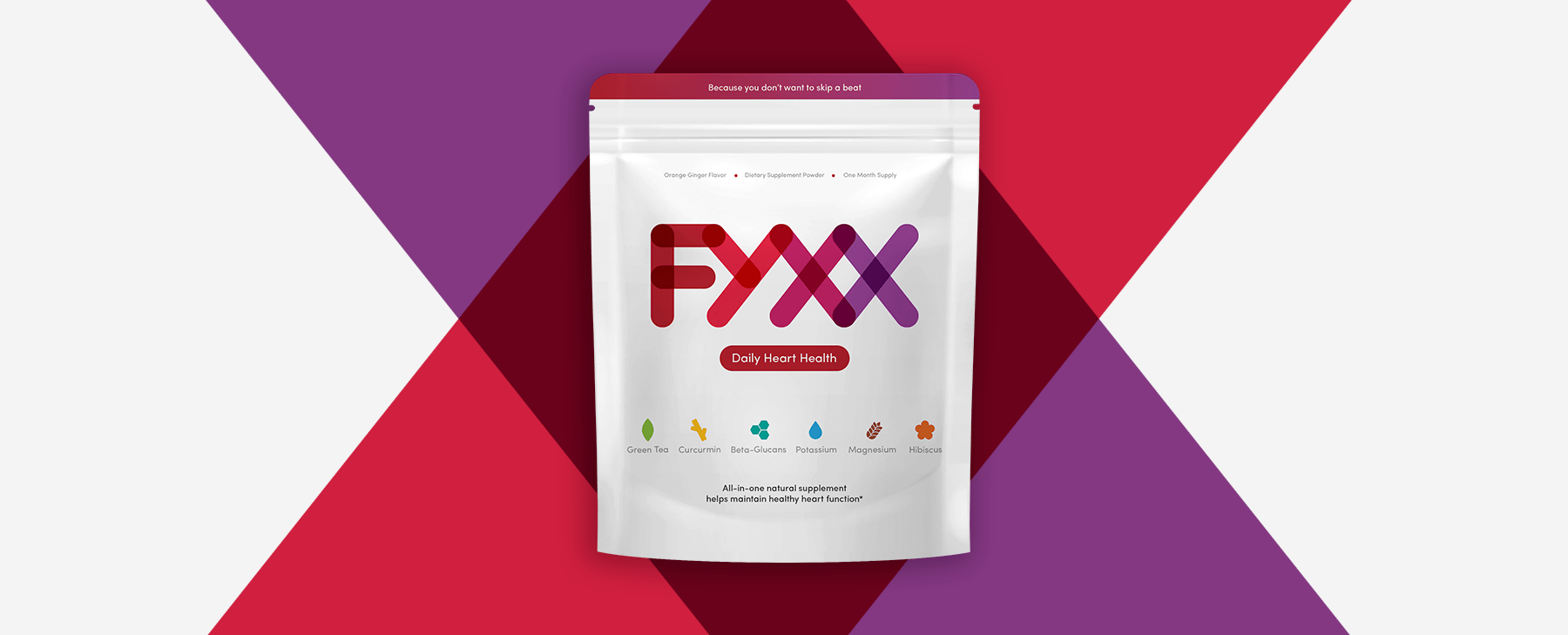 FYXX hearts packaging